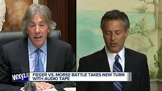 Fieger Vs. Morse takes new turn with audio tape - Video