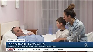 Coronavirus prompts thoughts of wills and trusts