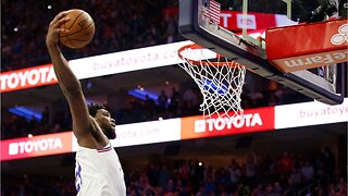 Joel Embiid was so dominant in a playoff game that It sparked an argument