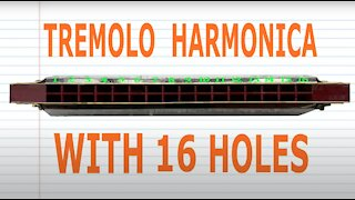 How to Play a Tremolo Harmonica with 16 Holes
