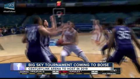 Boise to Host Big Sky Basketball Tournament