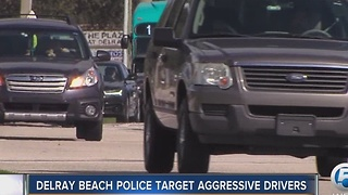 Delray Beach police target aggressive drivers - Video
