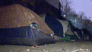 Akron homeless community must move - Video