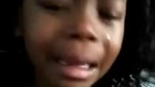 Kid cries because she doesn't want to grow up - Video