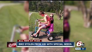 Peru community helps replace child's stolen bike - Video