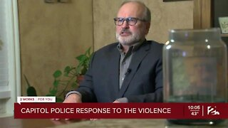 Security expert weighs in on Capitol Police response to demonstrators