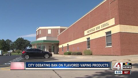 Smithville tables ban on flavored vaping as governor launches statewide campaign