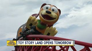 Toy Story Land opens Saturday at Disney World - Video