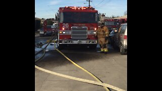 SD firefighters rally around firefighter battling cancer