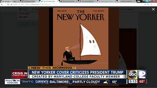 MICA faculty member pens Trump on cover of The New Yorker - Video