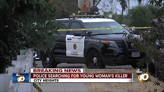 Young woman's body found in City Heights - Video