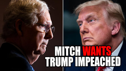 Mitch McConnell SUPPORTS Trump Impeachment
