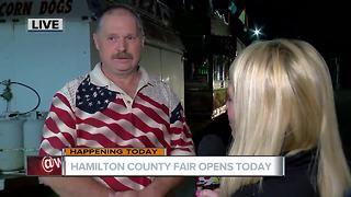 Free entry for opening day of the Hamilton County Fair on Wednesday - Video