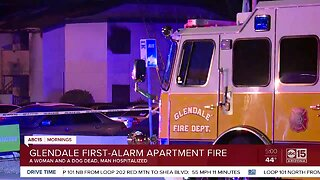 Woman killed in Glendale apartment fire