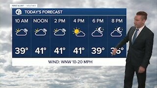 Metro Detroit Forecast: Cloudy with temps in the low 40s