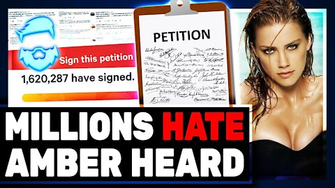 Johnny Depp Gets GREAT News & Media Reports 1.5 MILLION People Want Amber Heard Fired From Aquaman 2