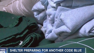 Shelter preparing for another Code Blue - Video