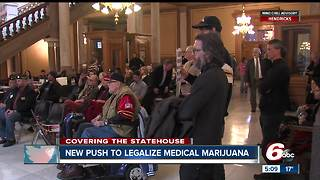 Veterans push to legalize medical marijuana in Indiana - Video