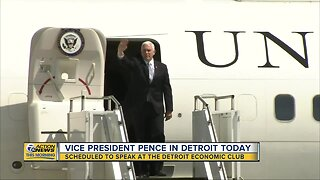 Vice President Mike Pence to speak in Detroit today