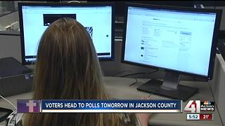 Voters head to polls Tuesday in Jackson County - Video