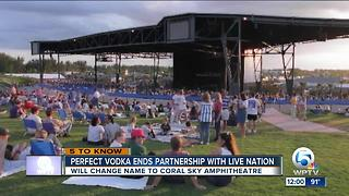 Perfect Vodka Amphitheatre changes its name - Video