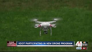 KDOT participating in new drone program