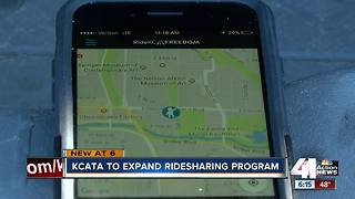 KCATA hopes to expand rideshare service RideKC Freedom - Video