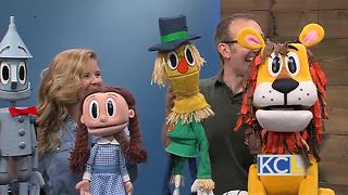 """Wizard of Oz"" comes to life with puppets - Video"
