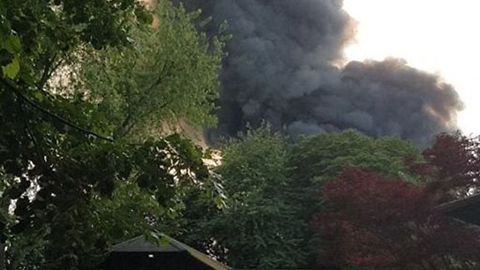 Black Smoke Billows After Europa-Park Attraction Catches Fire