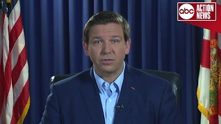 Ron DeSantis speaks following recount order