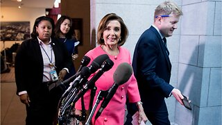 "Nancy Pelosi says she's ""Done"" with President Trump"