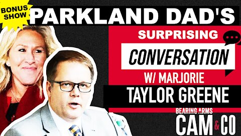 Parkland Dad's Surprising Conversation W/ Marjorie Taylor Greene