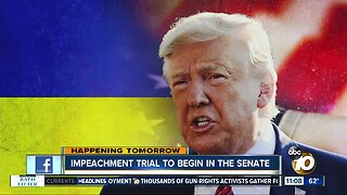 Impeachment trial set to begin in Senate