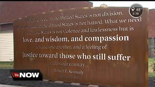 Indianapolis prepares for the 50th anniversary of the speech RFK gave in Indianapolis the night Martin Luther King Jr. was assassinated - Video