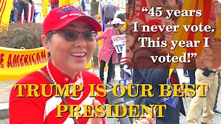 Americans Say! 45 Years I Never Vote, This Year I Voted | Washington DC | 2020-12-12