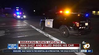Man shot and killed in San Carlos neighborhood - Video