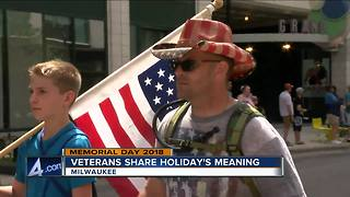 Veterans share meaning of Memorial Day - Video