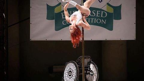 My Wheelchair Won't Stop Me Being A Pole Dancer | BORN DIFFERENT