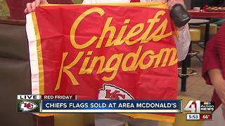 Red Friday Chiefs flag sales benefit Ronald McDonald House Charities - Video