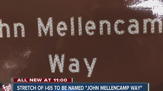 Stretch of I-65 to be named after John Mellencamp - Video
