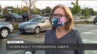 Voters react to presidential debate