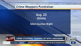 Hakkassan Group teams up with Crime Stoppers for fundraising event - Video