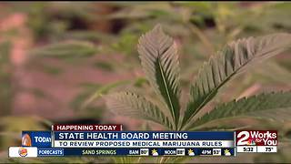Oklahoma State Board of Health to review proposed rules on medical marijuana - Video