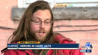 Man describes heroic rescues at Denver construction site fire - Video