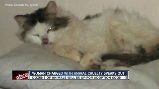 83 animals removed from North Port home, woman charged with animal cruelty - Video