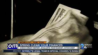 Spring cleaning your finances - Video