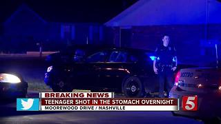 Teen Injured In Drive-By Shooting - Video