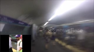 Race against the Lisbon subway - Video