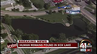 Human remains found in Big 11 Lake - Video