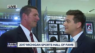 2017 Michigan Sports Hall of Fame - Video